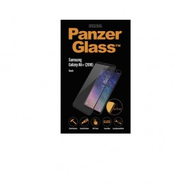 PanzerGlass Samsung Galaxy A6 Plus 2018 (SM-A605) Ekraanikaitseklaas, Must