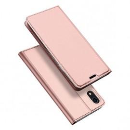 "Xiaomi Redmi Note 8 Pro ümbriskaaned kaarditaskuga Dux Ducis ""Skin Pro"" pink"