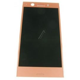Puutetundlik klaas ja LCD Ekraan Sony Xperia XZ1 Compact , Rose