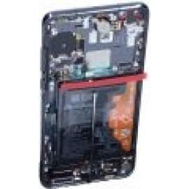 Huawei P40 originaal displei moodul klaas + LCD ekraan, must (Black) 02353MFA