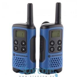Raadiojaamade komplekt Motorola TLKR T41 , Sinine
