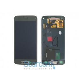Puutetundlik klaas ja LCD ekraan SAMSUNG GALAXY S5 mini (SM-G800), kuldne