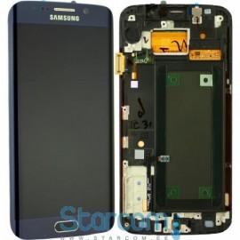Puutetundlik klaas ja LCD ekraan SAMSUNG GALAXY S6 EDGE  (SM-G925F), BLACK