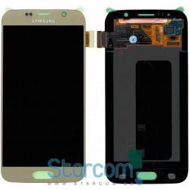 Puutetundlik klaas ja LCD ekraan SAMSUNG GALAXY S6 (SM-G920F), GOLD
