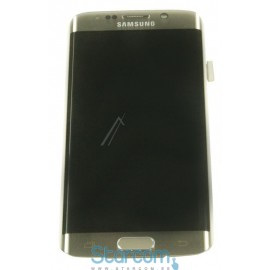 Puutetundlik klaas ja LCD ekraan GALAXY S6 EDGE (SM-G925F), Kuldne GH97-17162C