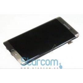 Puutetundlik klaas ja LCD ekraan GALAXY S6 EDGE + (SM-G928F), Kuldne GH97-17819A