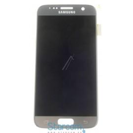 Puutetundlik klaas ja LCD ekraan Samsung GALAXY S7 (SM-G930), SILVER GH97-18523B