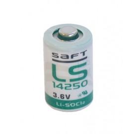 Saft LS14250 1/2AA / 1/2R6 / 1/2UM3 / CR1/2AA / 6127 / 14250 Lithium(liitium) 3.6V 1200mAh patarei