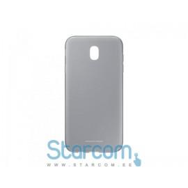 Silikoonist tagakaas Samsung Galaxy J3 2017(SM-J330) Cover Jelly,Black  EF-AJ330TBEGWW