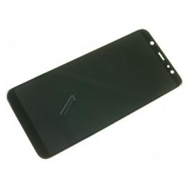 Samsung Galaxy A6 Plus (SM-A605F) Originaal displei moodul klaas + LCD ekraan, Must