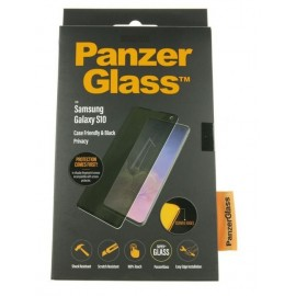 Samsung Galaxy S10 (SM-G973F) PanzerGlass ekraanikaitseklaas CASEFRIENDLY PRIVACY, Must