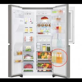 LG külmkapi pudelite-alumine ukse riiul GSX961NSAZ mudelile