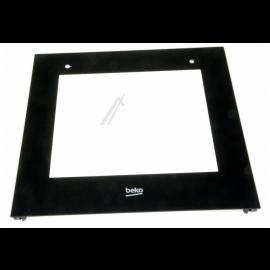 BEKO CSS 57100 GW elektripliidi ukse välimine klaas, sobib ka teistele mudelitele