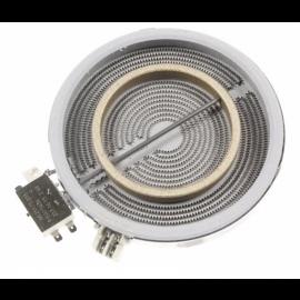 Elektripliidi küttekeha keraamilisele pliidile laiendatava keedualaga Beko CSE57100GW sobib ka teistele mudelitele