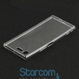 Silikonist ümbris / tagakaas Sony XZ1 Compact , Läbipaistev