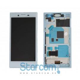 Puutetundlik klaas ja LCD ekraan Sony Xperia X Compact (F5321) sinine