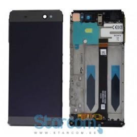 Puutetundlik klaas ja LCD ekraan Sony XA Ultra Dual SIM (F3212) must