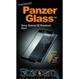 Panzer ekraanikaitseklaas Sony Xperia XZ Premium , Must