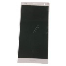 Sony Xperia XZ2 Originaal displei moodul klaas + LCD ekraan , roosa