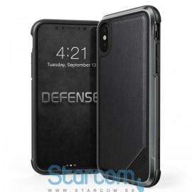 Tagakaas Apple iPhone X Lux , Leather Black