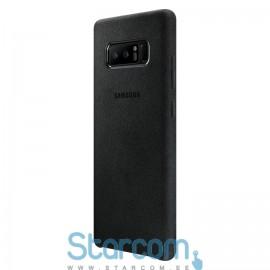 Pehme Tagakaas Samsung Galaxy Note 8 (SM-N950) cover Alcantara  , Black EF-XN950ABEGWW