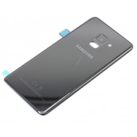 Tagakaas / Tagaklaas (akukaas) Samsung galaxy A8 2018 (SM-A530F) , Must GH82-15551A