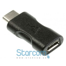 ADAPTER, USB 3.1 C STECKER ( Üleminek Micro USB - USB C)