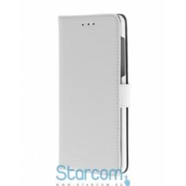 Kaaned tüüpi ümbris Insmat Nokia 6 valge flip kott
