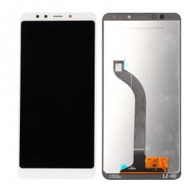 Xiaomi Redmi 5 Plus displei moodul klaas + LCD ekraan, Valge