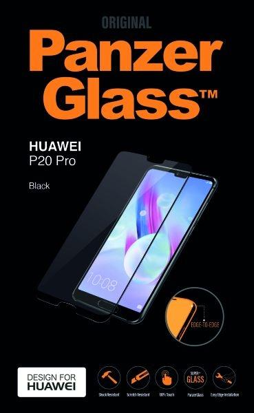 acc1280224b Huawei P20 Pro PanzerGlass ekraanikaitseklaas , must