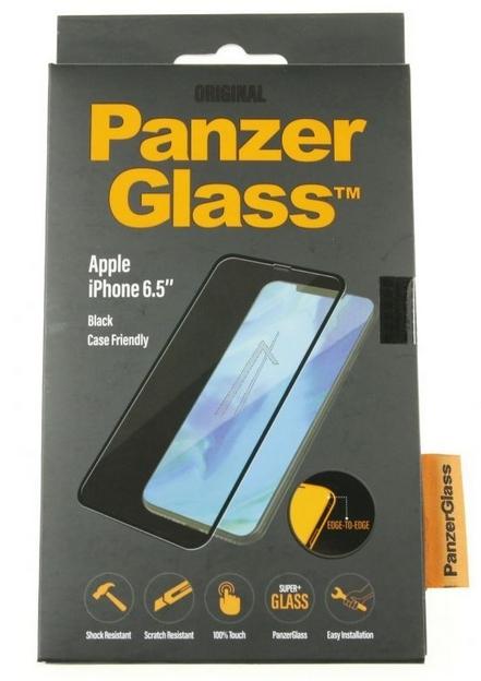 c22c9f24c05 Apple iPhone XS MAX ümbrisesõbralik ekraanikaitseklaas PanzerGlass, must
