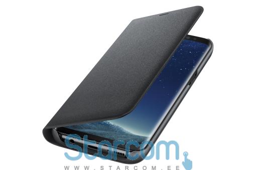 7af86891bf7 Samsung Kaaned tüüpi ümbris LED View Cover for S8 G950 EFNG950PBE ,  Erinevad värvid